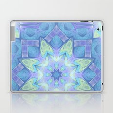 End of Winter Mandala Laptop & iPad Skin