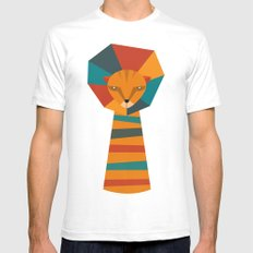 Lio Fun Mens Fitted Tee White SMALL