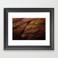 Red Rocks Close Up Framed Art Print