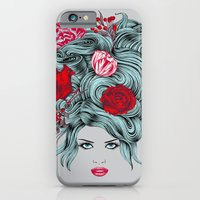 iPhone & iPod Case featuring Winter Girl by Rachel Caldwell