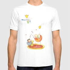 Baby surprise White Mens Fitted Tee SMALL
