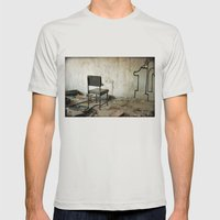 Punishment Mens Fitted Tee Silver SMALL