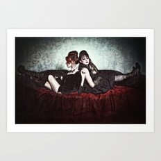 Gothic Slumming Art Print