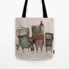 My Family And I Tote Bag