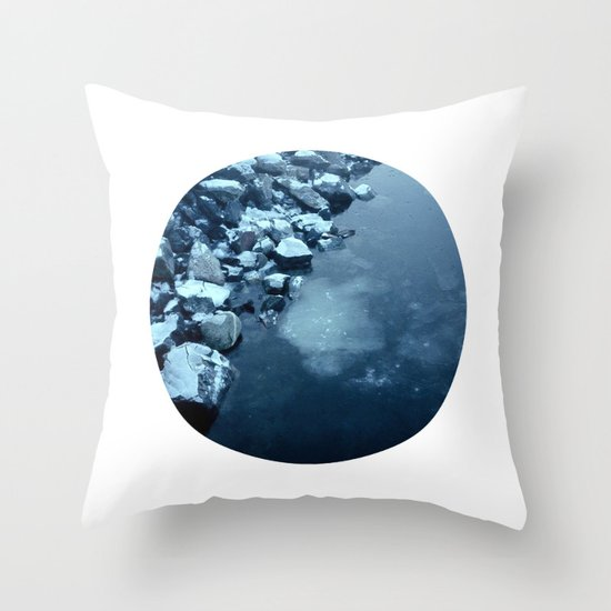 Telescope 10 ice  Throw Pillow