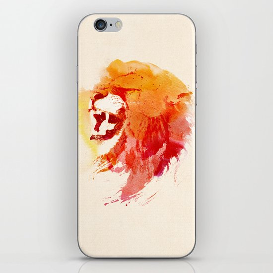 Angry Lion iPhone & iPod Skin