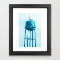 Smiley Framed Art Print