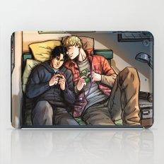 William and Theodore 06 iPad Case