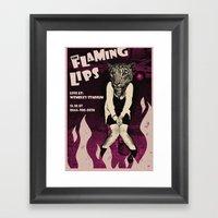 Animal Instinct 2 Framed Art Print