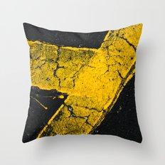 asphalt 1 Throw Pillow