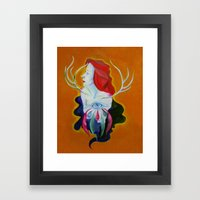 Somewhere In Between Framed Art Print