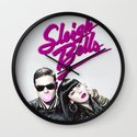 Sleigh Bells Wall Clock