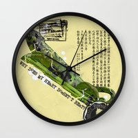 WHY DOES MY HEART DOESN'… Wall Clock