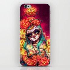 Día de los Muertos iPhone & iPod Skin
