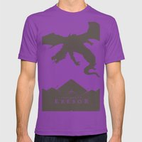 Welcome to Erebor Mens Fitted Tee Ultraviolet SMALL