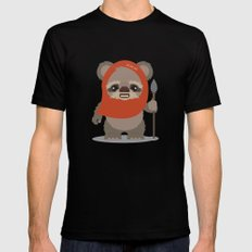 Ewok  Mens Fitted Tee SMALL Black