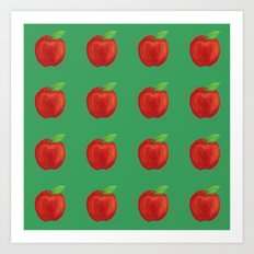 Apples Apples Art Print