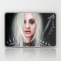 Sword In the Dark: A Gothic Warrior  Laptop & iPad Skin