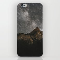 Milky Way Over Mountains - Landscape Photography iPhone & iPod Skin