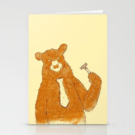 Office Bear Stationery Card