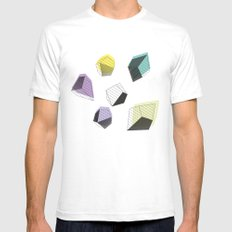 Play  SMALL Mens Fitted Tee White