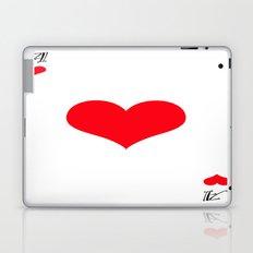 ace of heart Laptop & iPad Skin