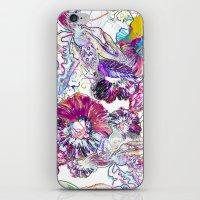 Line Flower iPhone & iPod Skin