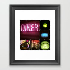 Diner Framed Art Print