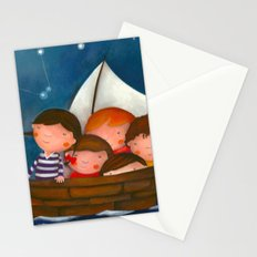 At the sea Stationery Cards