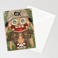 o-x (monster) Stationery Cards