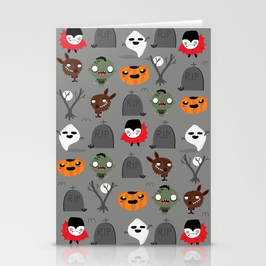 Not that spooky halloween Stationery Card