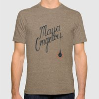Maya Mens Fitted Tee Tri-Coffee SMALL