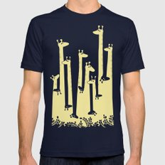 Such A Great Height Mens Fitted Tee Navy SMALL