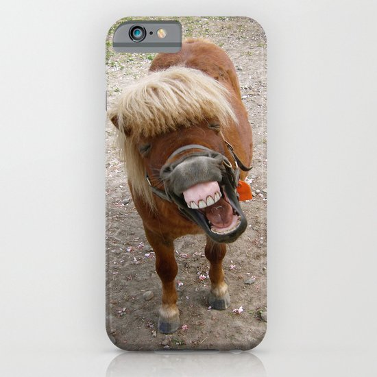 Why the long face? iPhone & iPod Case