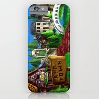iPhone & iPod Case featuring RPG Town by LightningArts