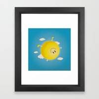 Summersault Framed Art Print