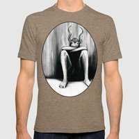 Keep The Sabbath Holy Mens Fitted Tee Tri-Coffee SMALL