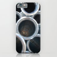 iPhone & iPod Case featuring Silver Flower by Kookyphotography