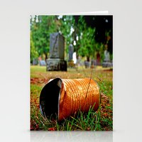 Cemetery can Stationery Cards