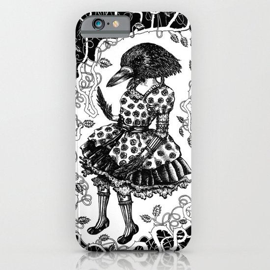 Crow Serie :: Aglaé  iPhone & iPod Case