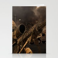 The Sniper Stationery Cards