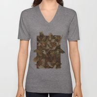 Red-Throated, Black-capped, Spotted, Barred Unisex V-Neck