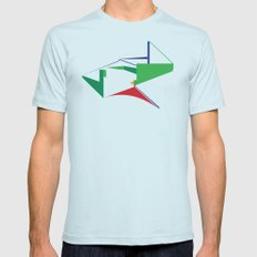 Reformed Church Mens Fitted Tee Light Blue SMALL