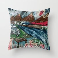 I'd Like To Stay / Someo… Throw Pillow
