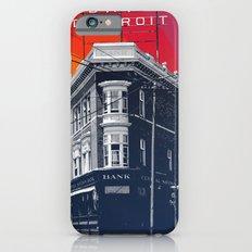 Save Detroit Slim Case iPhone 6s