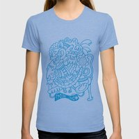 Freak Show Womens Fitted Tee Athletic Blue SMALL