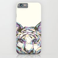 iPhone & iPod Case featuring Crystal Tiger by Julia Sonmi Heglund