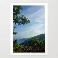 Secluded Seaside Art Print