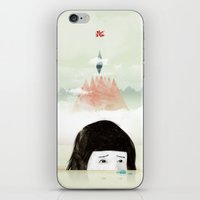 Girl Mountain iPhone & iPod Skin