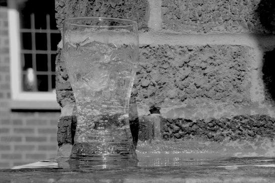 Water or Ice?? Art Print